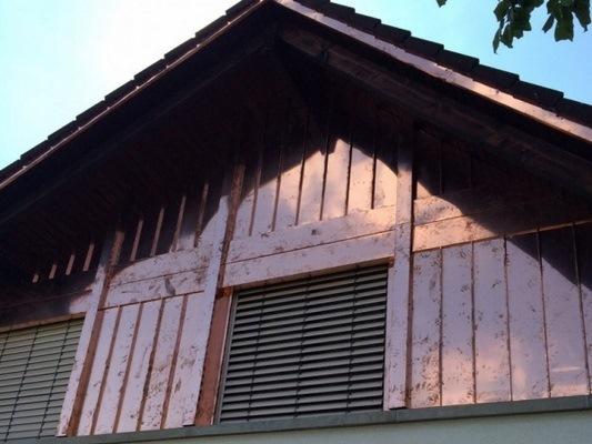 Spenglerei- Fassade