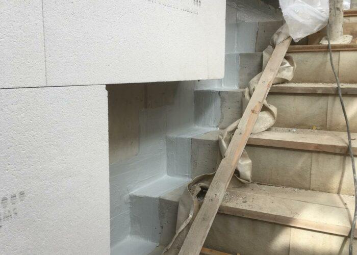 Treppenanschluss
